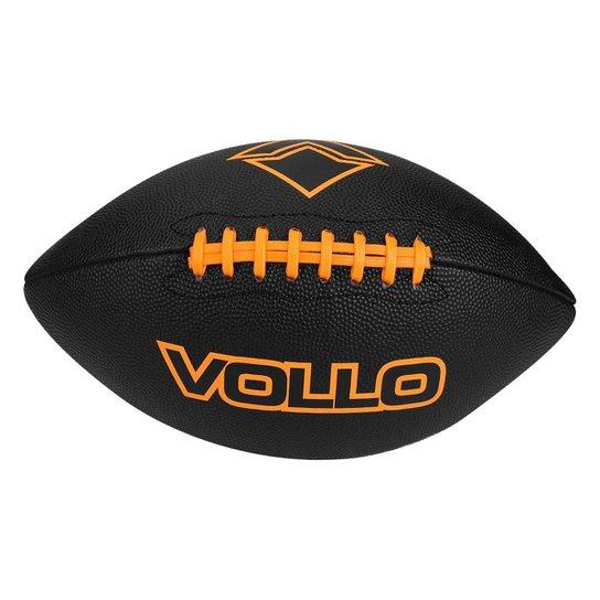 Bola De Futebol Americano Vollo 9 - Preto - Compre Agora  c66aa57c5b7