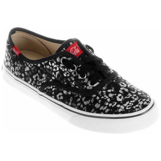 be5e1ef16 Tênis Coca-Cola Kick Onça Glam - Compre Agora