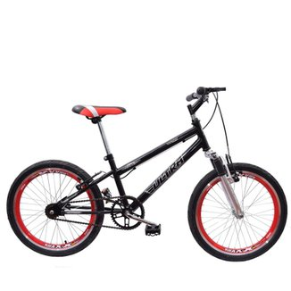 f36233e5c Bicicleta Aro 20 Ultra Cross Bmx Garfo de Suspensão V-Break