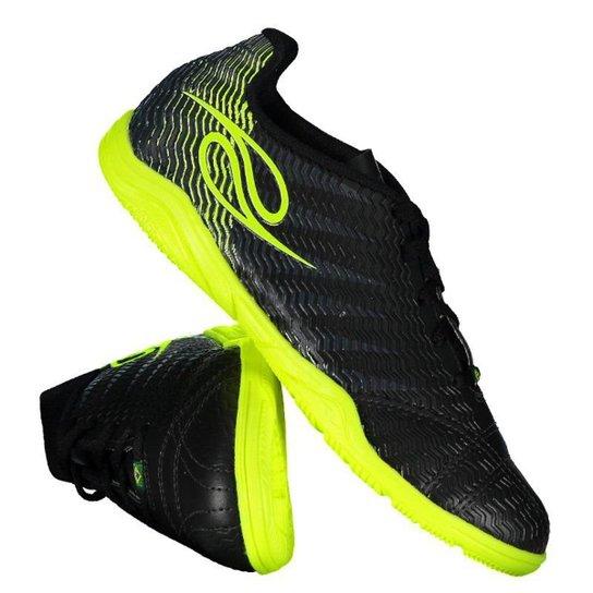 21ff93f92d0ab Chuteira Futsal Infantil Dalponte Wembley Indoor 821797920 - Preto ...
