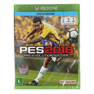 3f059af6e Jogo Pro Evolution Soccer (PES) 2018 Xbox One