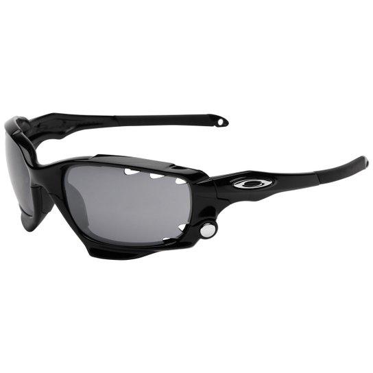 Óculos Oakley Racing Jacket - Iridium - Compre Agora   Netshoes 18b4d429c6