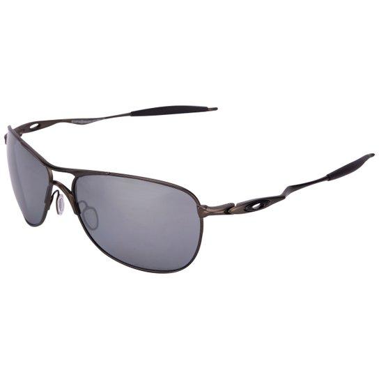 Óculos de Sol Oakley Titanium Crosshair Iridium - Compre Agora ... a57c54e40e