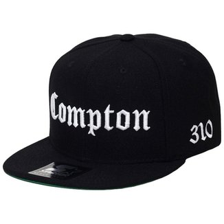 Boné Starter Aba Reta Snapback Compton 76217bf0a91