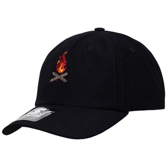 Boné Starter Aba Curva Strapback On Fire  Dad Hats  - Compre Agora ... 0127d80d8ea
