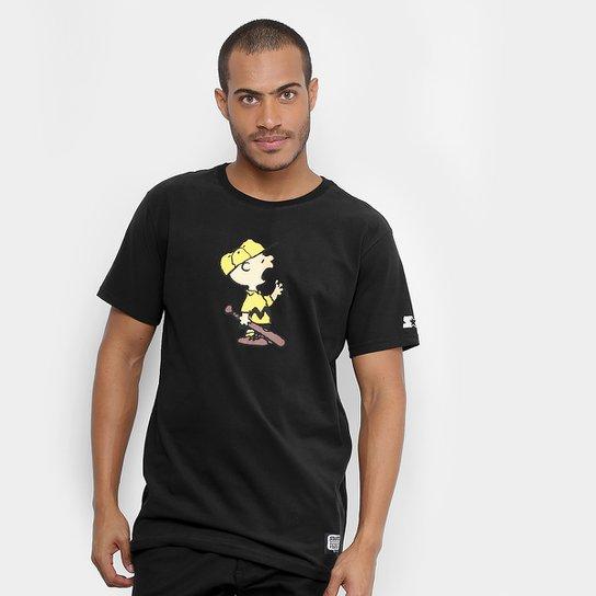 Camiseta Starter Baseball Charlie Brown Masculina - Compre Agora ... 56a82ccd94e