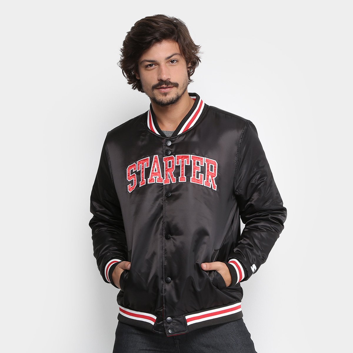 Foto 1 - Jaqueta Starter College Color Masculina