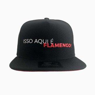 3985fb1b01 Boné Flamengo Isso Aqui É Flamengo Starter