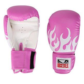 Luva de Boxe Muay Thai Feminina Treino Bad Boy 12 OZ 90e46fa58cc07
