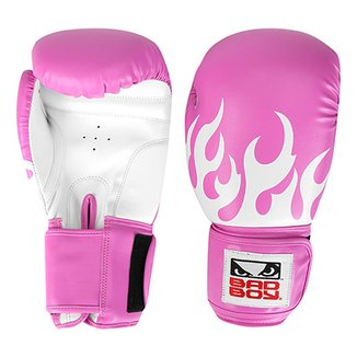 61501829a Luva de Boxe Muay Thai Bad Boy 16 OZ Feminina