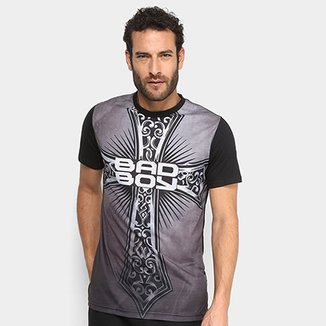Camiseta Bad Boy Medieval Cross Masculina a17406e3af4