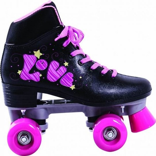f424c2f84 Patins Quad Love - Preto