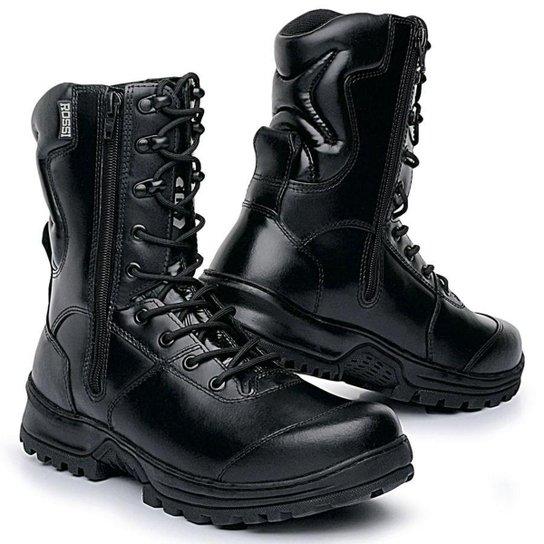 89486d01a9 Bota Masculina Tática Rossi Militar Sniper - Preto - Compre Agora ...