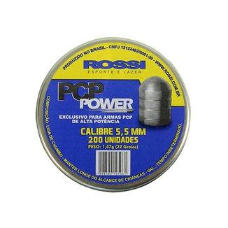 Chumbinho Rossi PCP Power 5.5mm 200un. ae1b9990558