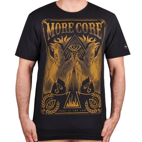 Camiseta Mcd Golden Core - Preto - P - Compre Agora  a82401b49e2