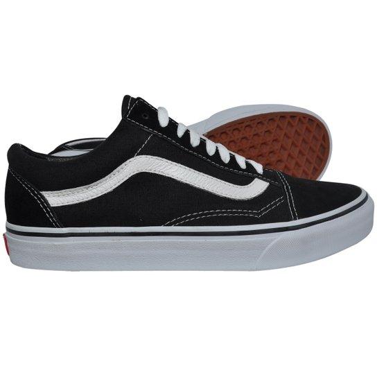 3ef1b979f26 Tênis Vans Old Skool Black - 43 - Compre Agora