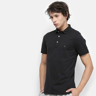 98d1b085e4 Compre Camisa Polo Masculina Manga Curta Slim Fit New York Yankees ...
