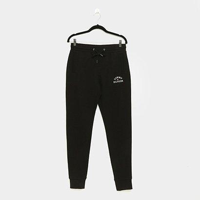 Calça Tommy Hilfiger Basic Embroidered Sweatpants Masculina