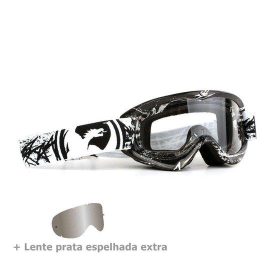 e86dd95ab3cc0 Óculos Dragon Mdx Scratch + Lente Extra - Preto - Compre Agora ...