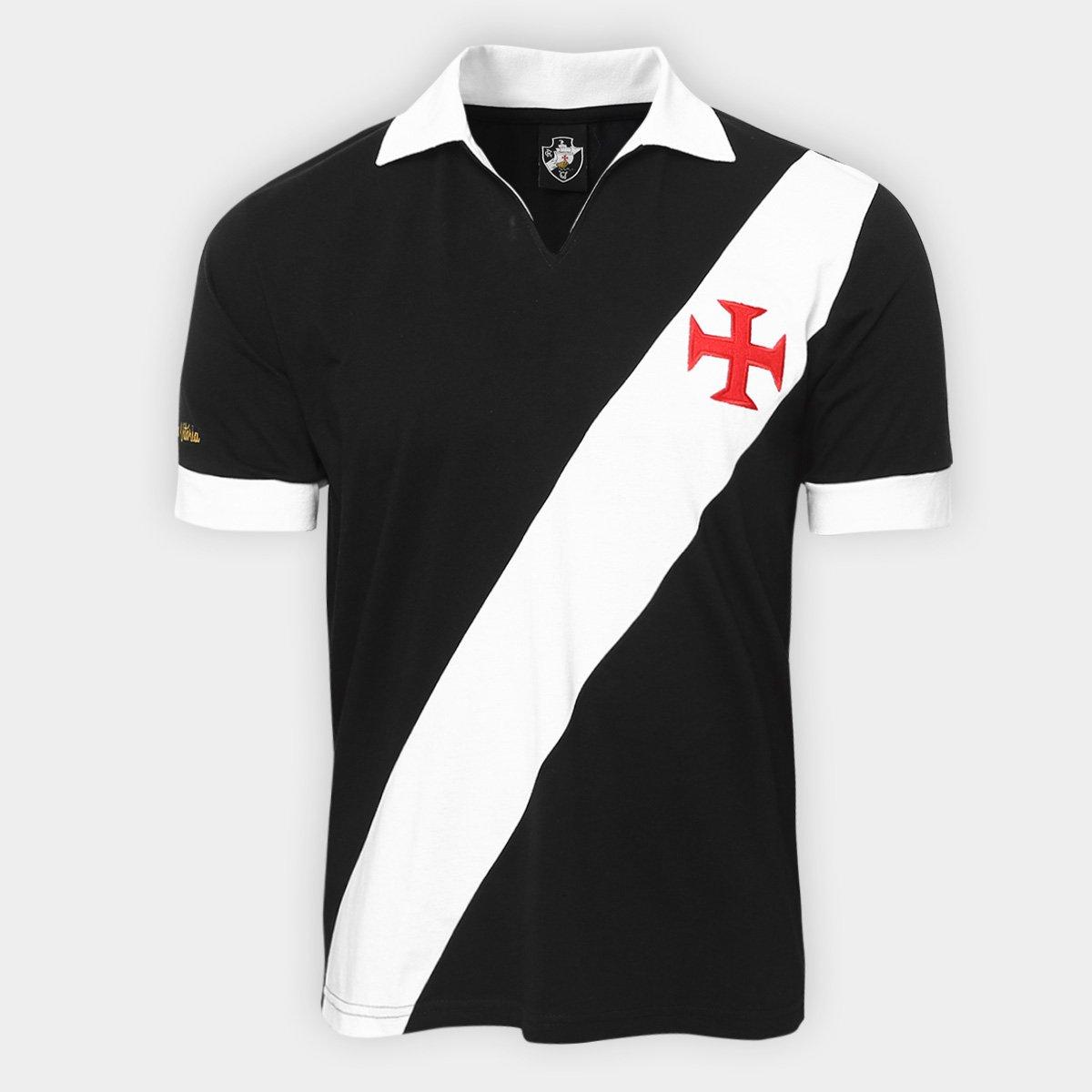 9312a45f7f Camisa Retrô Vasco Expresso Da Vitória Masculina