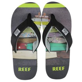 c181719501 Chinelo Reef Fanning Grey Floral - Compre Agora