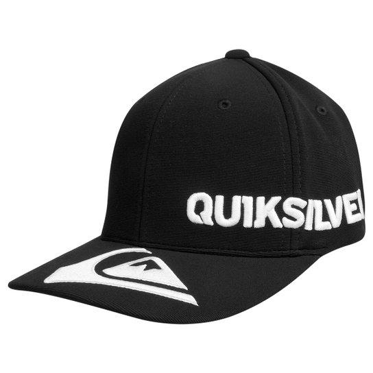 Boné Quiksilver Peak Flexfit Curved - Compre Agora  5d8fe13642e