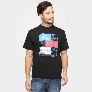 Camiseta Quiksilver Básica X Box d2272d54307