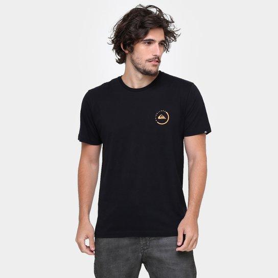 6a41f781bdd Camiseta Quiksilver Básica Active Logo Plus - Preto - Compre Agora ...