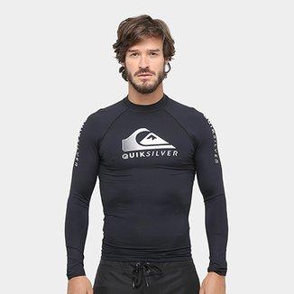 ed470a1c80 Camisa Surf Quiksilver Active Ass Rashguard Masculina