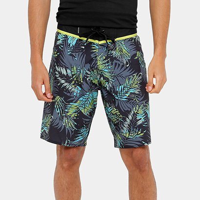 Bermuda Quiksilver Floral Everyday Masculina