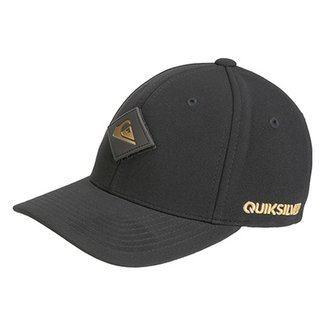97c57436df03c Boné Quiksilver Aba Curva Velcro Golden Masculino