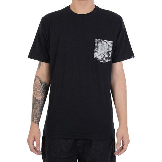 Camiseta Quiksilver Pocket Nature - Compre Agora  2b0c7314a10