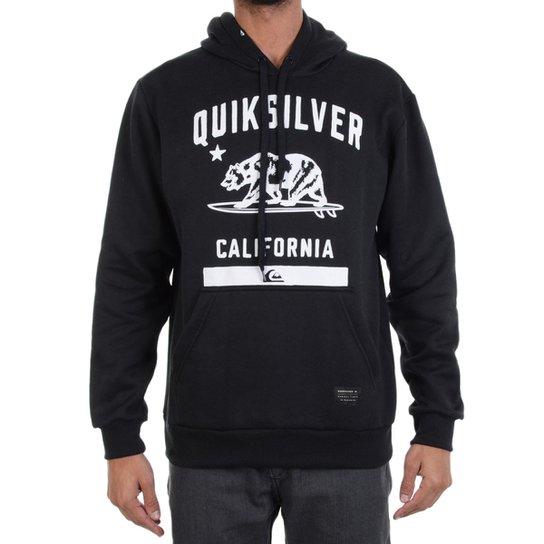 Moletom Quiksilver California - Compre Agora   Netshoes 4251fc42c5