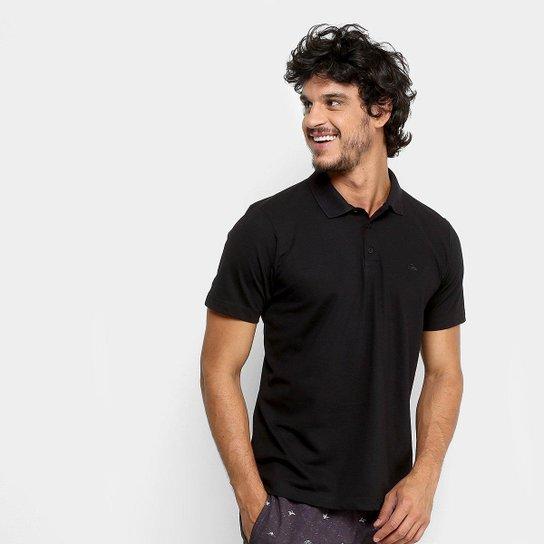 4d06d4c69027a Camisa Polo Quiksilver Piquet Masculina - Preto - Compre Agora ...