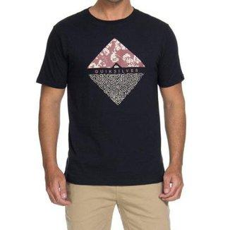 Camiseta Quiksilver Flower Dot 967309ae02