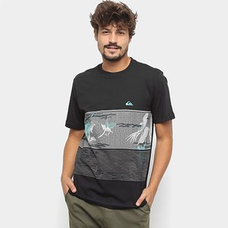 2ad6337759982 Camiseta Quiksilver BAS Stacks for Days - Masculina