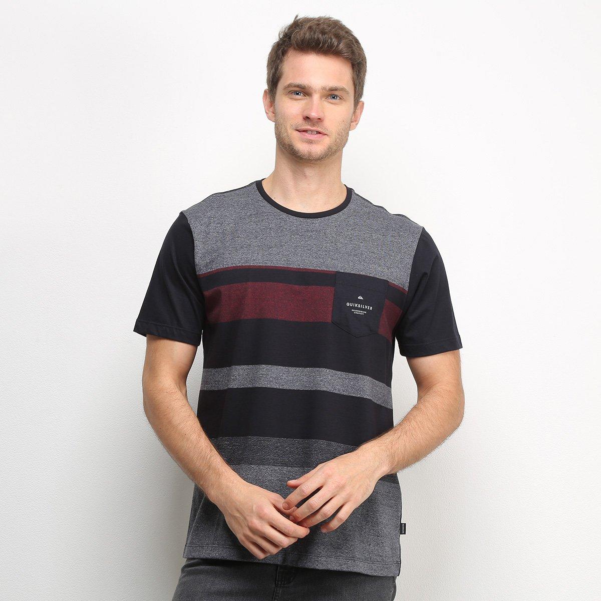 Camiseta Quiksilver Esp Vista Masculina - Tam: G