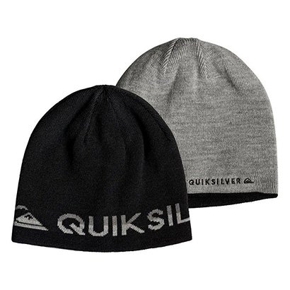 Gorro Quiksilver Dupla Face Out Of Bounds Ii Imp Masculino