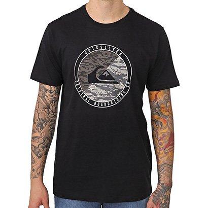 Camiseta Quiksilver Camo Board Masculino