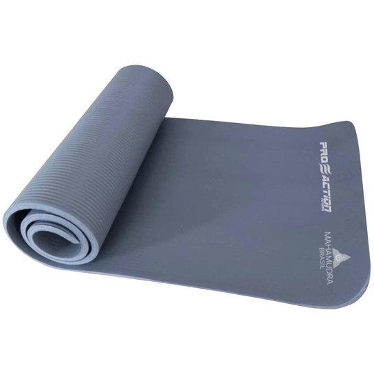 Tapete de Exercícios em EVA NBR Yoga Mat Proaction Mahamudra MH910 - Preto d898dc410b31