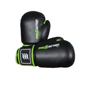 5935e18cc Luva de boxe e Muay Thai profissional Proaction- preta -16oz