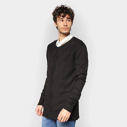 Suéter Tricô Eagle Rock Básico Masculino