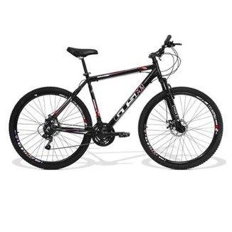 0cac383b31596 Bicicleta Gts M1 Ride Aro 29 Freio A Disco Câmbio Traseiro Shimano 24  Marchas E Amortecedor