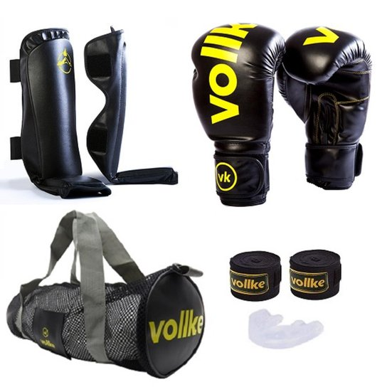 Kit Muay Thai Completo Fighter Luva Vollke + Bolsa Gym - Compre ... 991e4a2517052