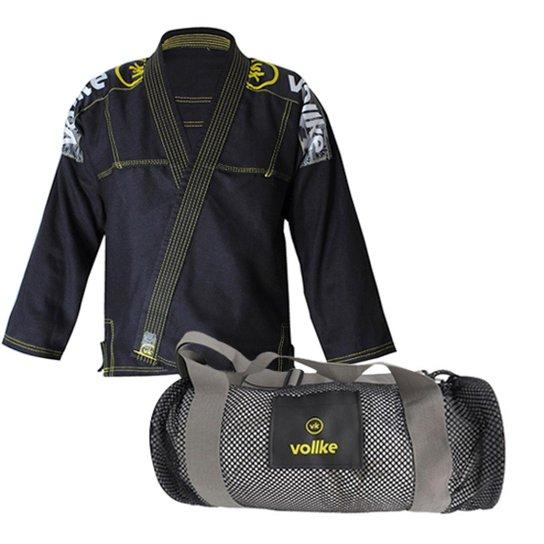 cf020bf2c68 Kit Vollke Jiu Jitsu Kimono Lightweight e Bolsa Vollke - Compre ...