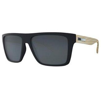 7640594c39092 Óculos de Sol Floyd Matte Wood Gray Lenses HB