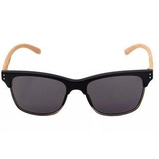 Óculos de Sol HB Slam Fish Matte Black Wood Grey d19e4cbef3