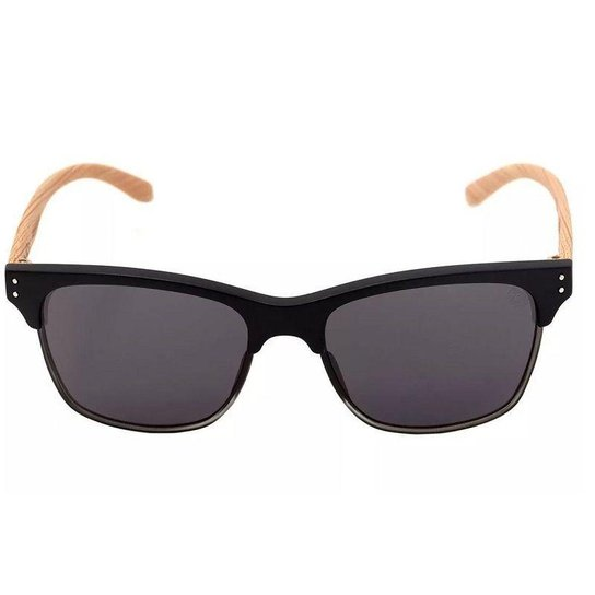 Óculos de Sol HB Slam Fish Matte Black Wood Grey - Compre Agora ... 6783ee57fd6f