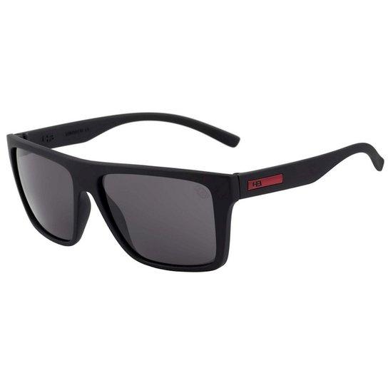 6bd30f7c743d8 Óculos de Sol HB Floyd Matte Black Red - Preto - Compre Agora   Netshoes