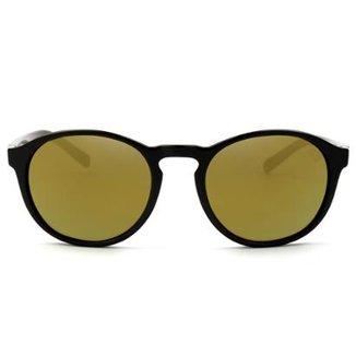 4a13b1615a312 Óculos de Sol HB Gatsby Gloss Black Lenses Bronze